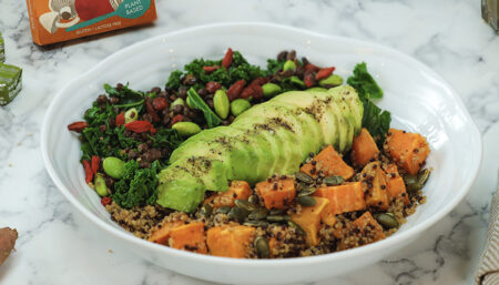 """""""Energised"""" - Post Gym/Workout Hearty Salad"""