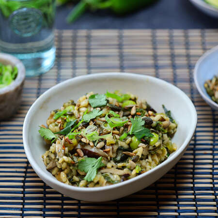 Asian Style Risotto