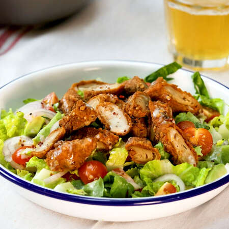 Southern Fried 'Chicken' Salad