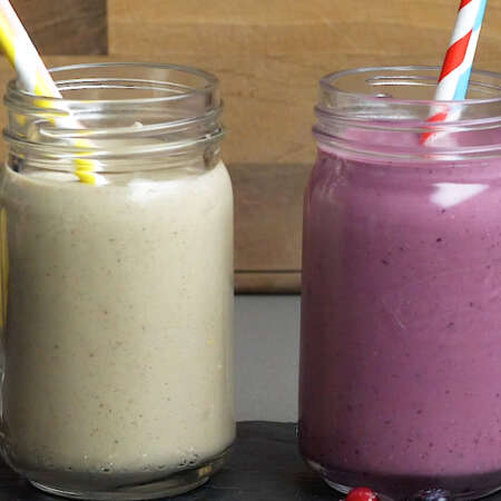 Two Healthy & Delicious Smoothies