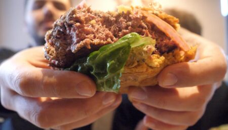 We tried the Impossible Burger!