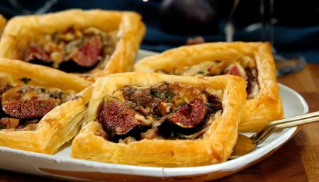 Cheesy Fig Pastries
