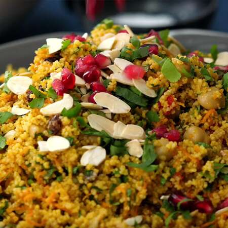 Quick and Easy Moroccan Couscous