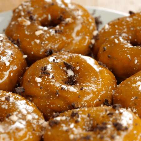 Sticky Toffee Donuts