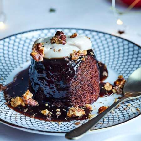 Christmas Spiced Sticky Toffee Pudding