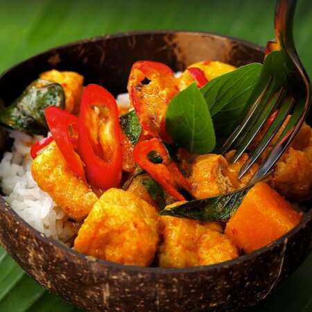 Authentic Thai Red Curry