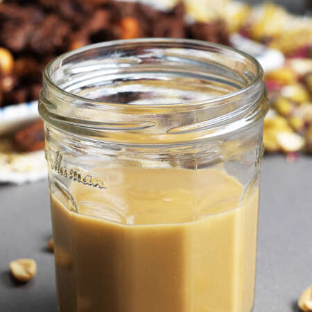 MOROCCAN SWEET SPICED NUTS & CREAMY MAPLE PEANUT BUTTER