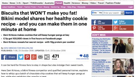 BOSH! on the Mail Online