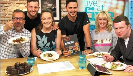 STV 2 Live At Five - Interview and Cookalong